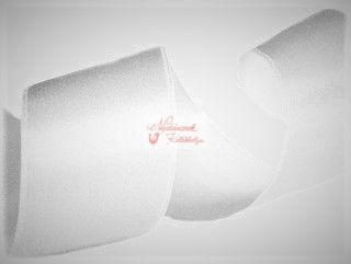 Szalag - szatén 15 mm fehér