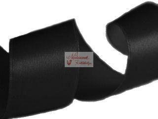 Szalag - szatén 15 mm fekete