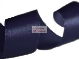 Szalag - szatén 15 mm kék