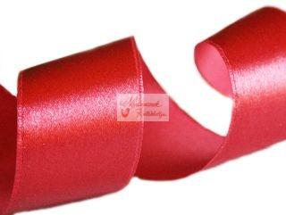 Szalag - szatén 15 mm piros