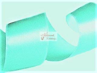 Szalag - szatén 15 mm türkiz