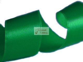 Szalag - szatén 15 mm világoszöld