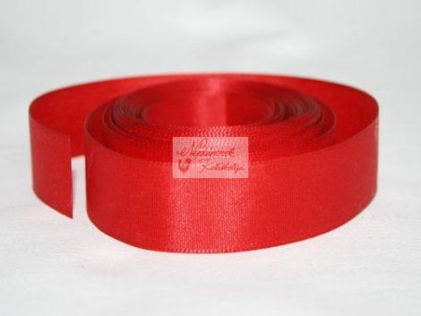 Szalag - szatén 20 mm piros