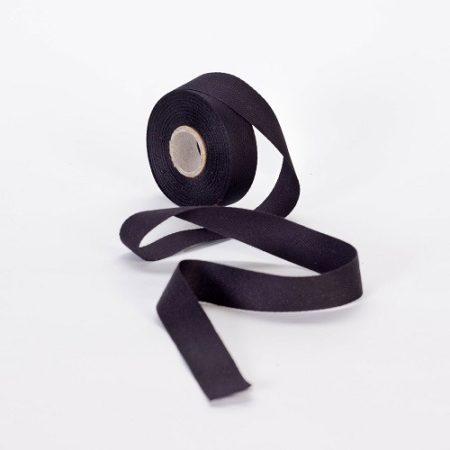 Szalag - köper 20 mm fekete