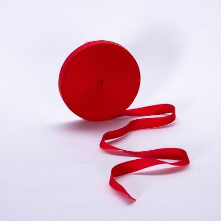 Szalag - köper 20 mm piros