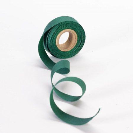 Szalag - köper 20 mm zöld