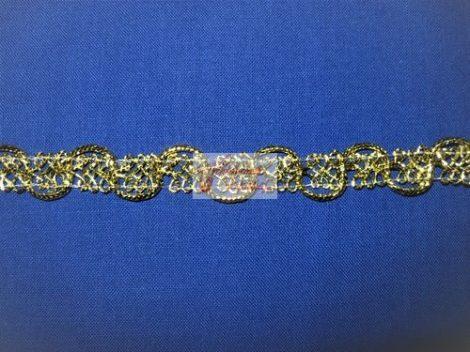Szalag - díszítő 15 mm arany