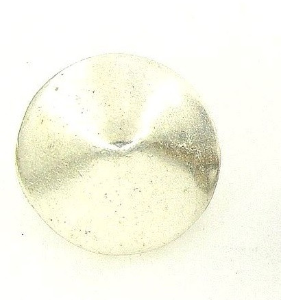 pitykegomb G9 ezüst