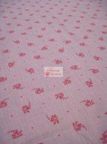 Pamutvászon lila virágos 083