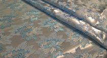 Selyem-brokát 2514 ezüst-kék 125