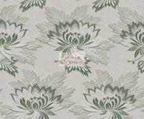 Selyem-brokát 2514 ezüst-zöld 246