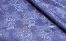 Selyem-brokát 2514 kék-kék  345