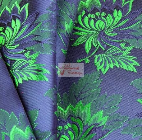 Selyem-brokát 2514 kék-zöld 745 - Néptáncosok Kellékboltja 42f9d7707f