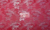 Selyem-brokát 2514 piros-fehér