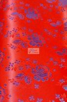 Selyem-brokát 5686 piros-kék
