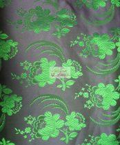 Selyem-brokát 5696 kék-zöld 125