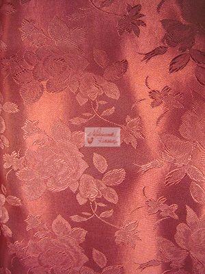 Selyem-brokát bordó