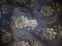 Selyem-brokát 5696 kék-arany lurex 15