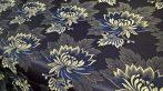 Selyem-brokát 2514 kék-fehér 335