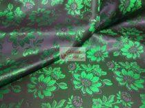 Selyem-brokát 6255 kék-zöld 125