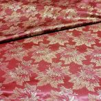 Selyem-brokát 2514 bordó-arany lurex 873