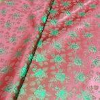 Selyem-brokát 6313 bordó-zöld 223