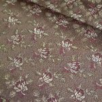 Selyem-brokát 6313 barna-bordó lurex 267