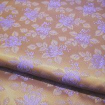 Selyem-brokát 6313 barna-lila 307