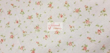 flanel fehér virágos 020