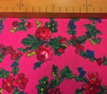 Kasmírmintás méteráru rózsaszín 029