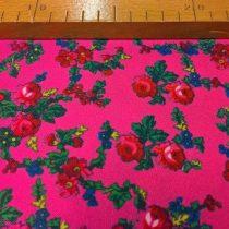 Kasmírmintás méteráru rózsaszín 049