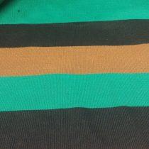 Székely szőttes csíkos barna-fekete-zöld 5 cm