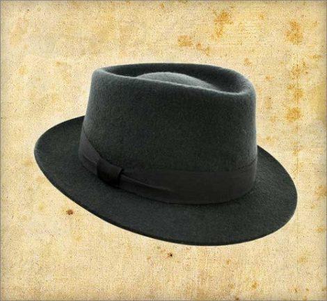 kalap vass szürke 58