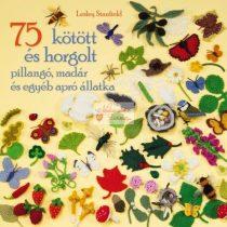75 kötött és horgolt pillangó, madár és egyéb
