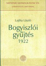 Bogyiszlói gyűjtés 1922