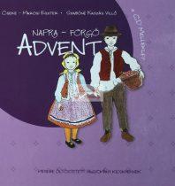 Napra-forgó Advent könyv+cd