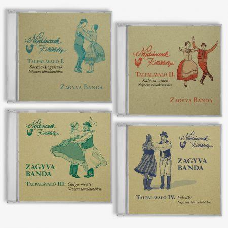 Talpalávaló CD sorozat