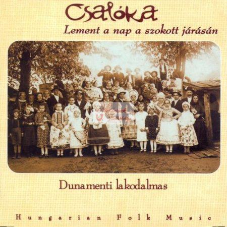 cd Csalóka: Lement a nap a szokott járásán