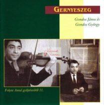 cd Gernyeszeg: Gondos János és Gondos György