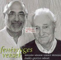 cd Gryllus Dániel: Fehéringes versek