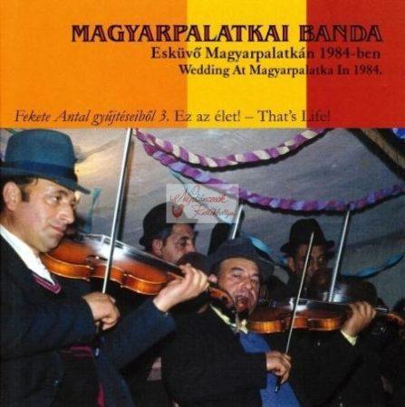 cd Magyarpalatkai Banda: Esküvő Magyarpalatkán