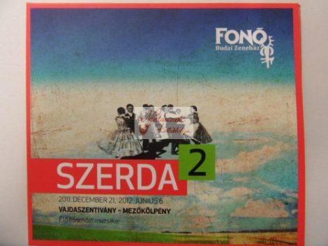 cd Szerda2: Vajdaszentivány-Mezőkölpény