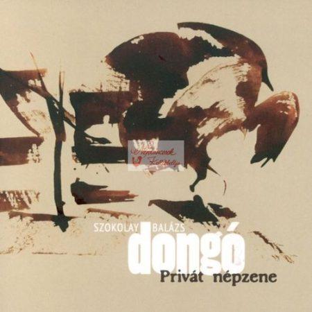 cd Szokolay Dongó Balázs: Privát népzene