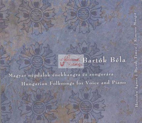 cd Bartók Béla: Magyar népdalok