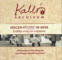 cd Kallós archívum 1. Erdélyi népzene