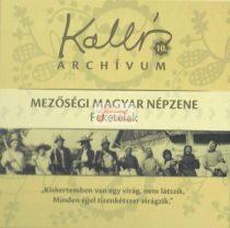 cd Kallós archívum 10. Feketelak