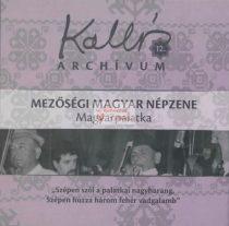 cd Kallós archívum 12. Magyarpalatka