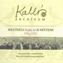 cd Kallós archívum 13. Nagysajó