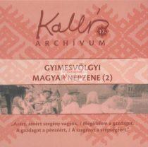 cd Kallós archívum 17. Gyimesvölgyi népzene (2)