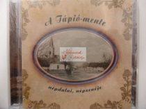 cd A Tápió-mente népdalai, népzenéje